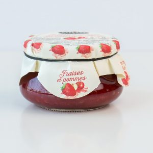 Fraises et pommes